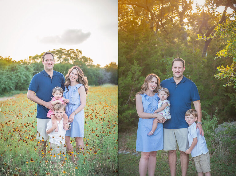 Austin First Birthday Family Photographer