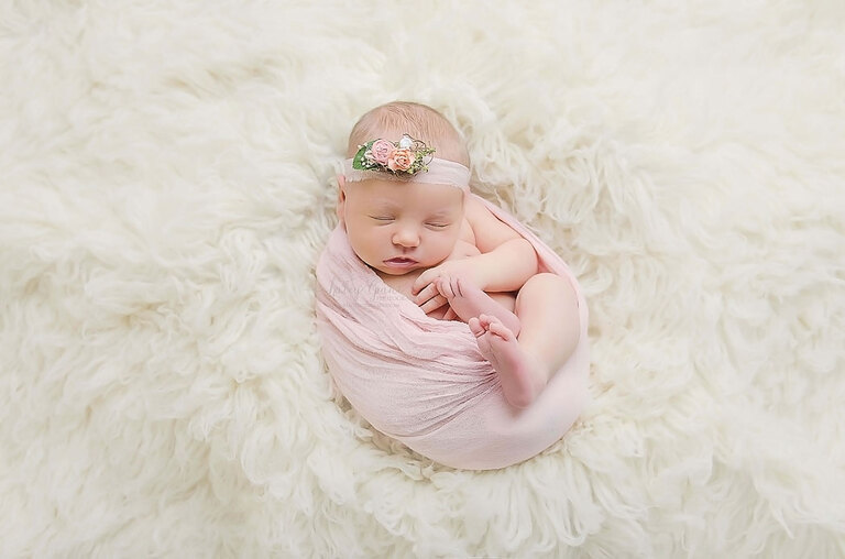Newborn Girl Professional Pictures